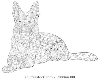 Pin by Mary Hollis-Bacon on Adult Color Images - dog-cat ...