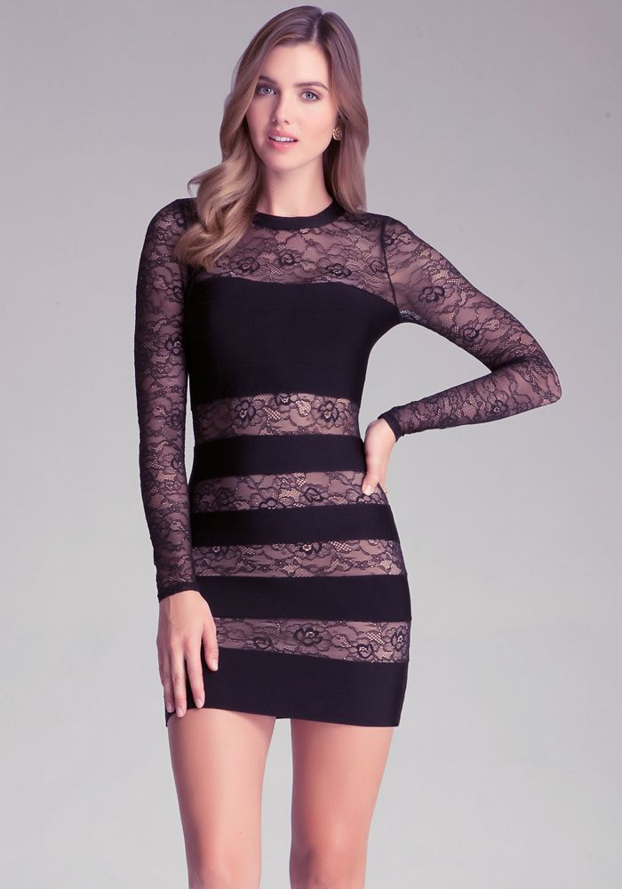 cool Bebe Bandage & Lace Dress | Women\'s Fashion | Pinterest