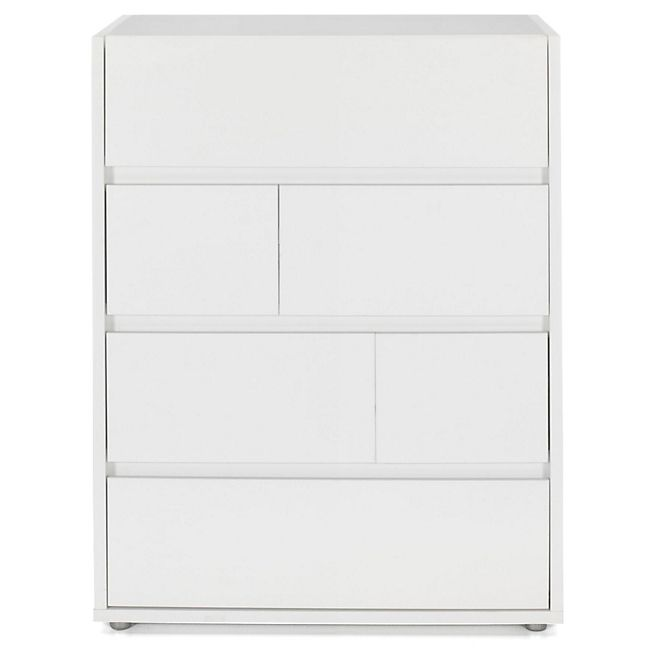 Commode Blanche A 4 Tiroirs Vision Commodes Commodes Chiffonniers Coiffeuses Chambre Par Piece Decorat Commode Commode Blanche Meuble Chambre A Coucher