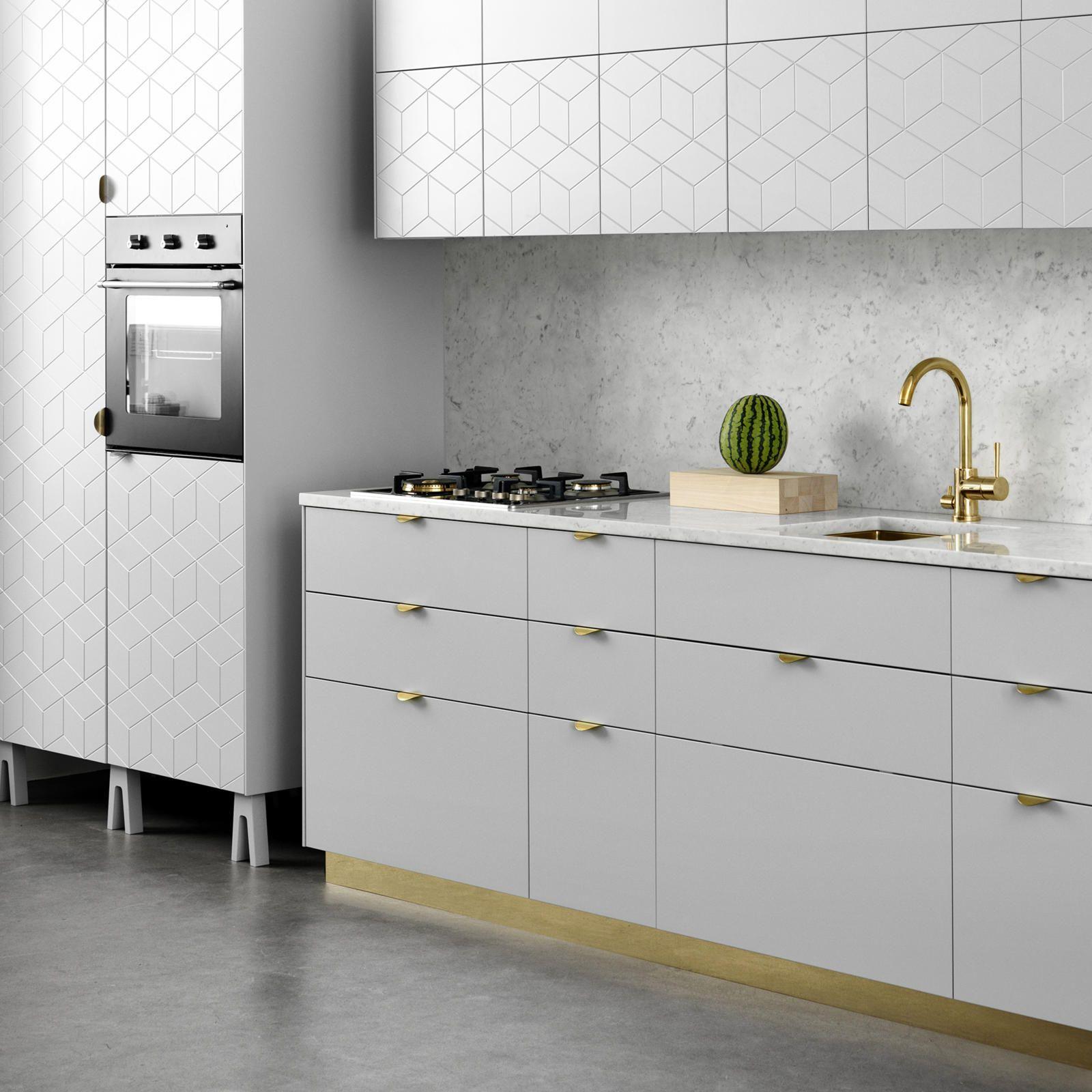 Two Tone Kitchen Cabinets Ikea: Fronter, Handtag, Ben, Toppar Och Sidor För IKEAs