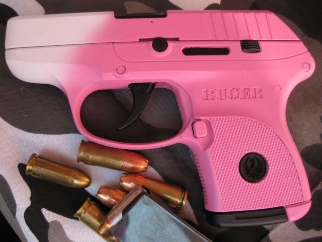 Pink Ruger Lc9 Subcompact Semi Automatic I M Getting An All Black One But Now Seriously Reconsidering Since Saw The