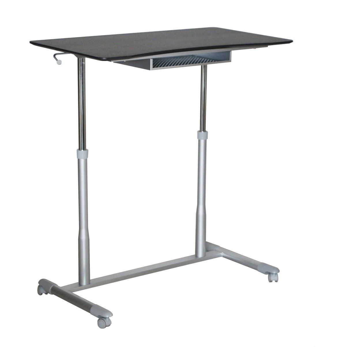 Unique Furniture 205-ESP Height Adjustable Sit Stand Desk with ...