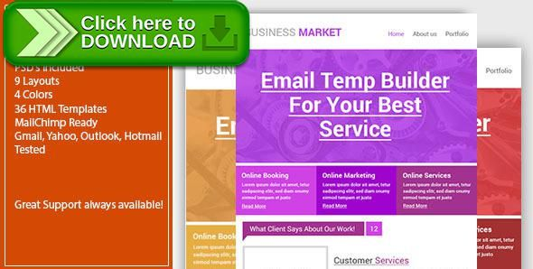 Free nulled Creative Business Email Template - Responsive download - business email template