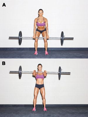 how to do a hang clean