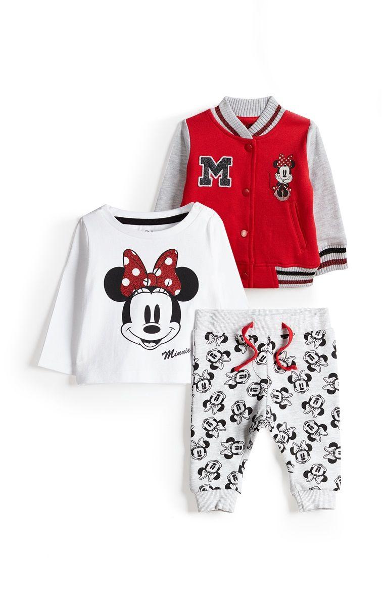 diseñador de moda precio moderado calidad superior Primark - Conjunto de 3 piezas para bebé niña | Baby Girl ...