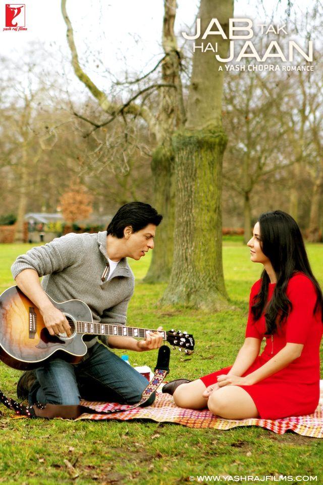Shahrukh Khan Katrina Kaif Jab Tak Hai Jaan Best Bollywood Movies Bollywood Couples Bollywood Stars