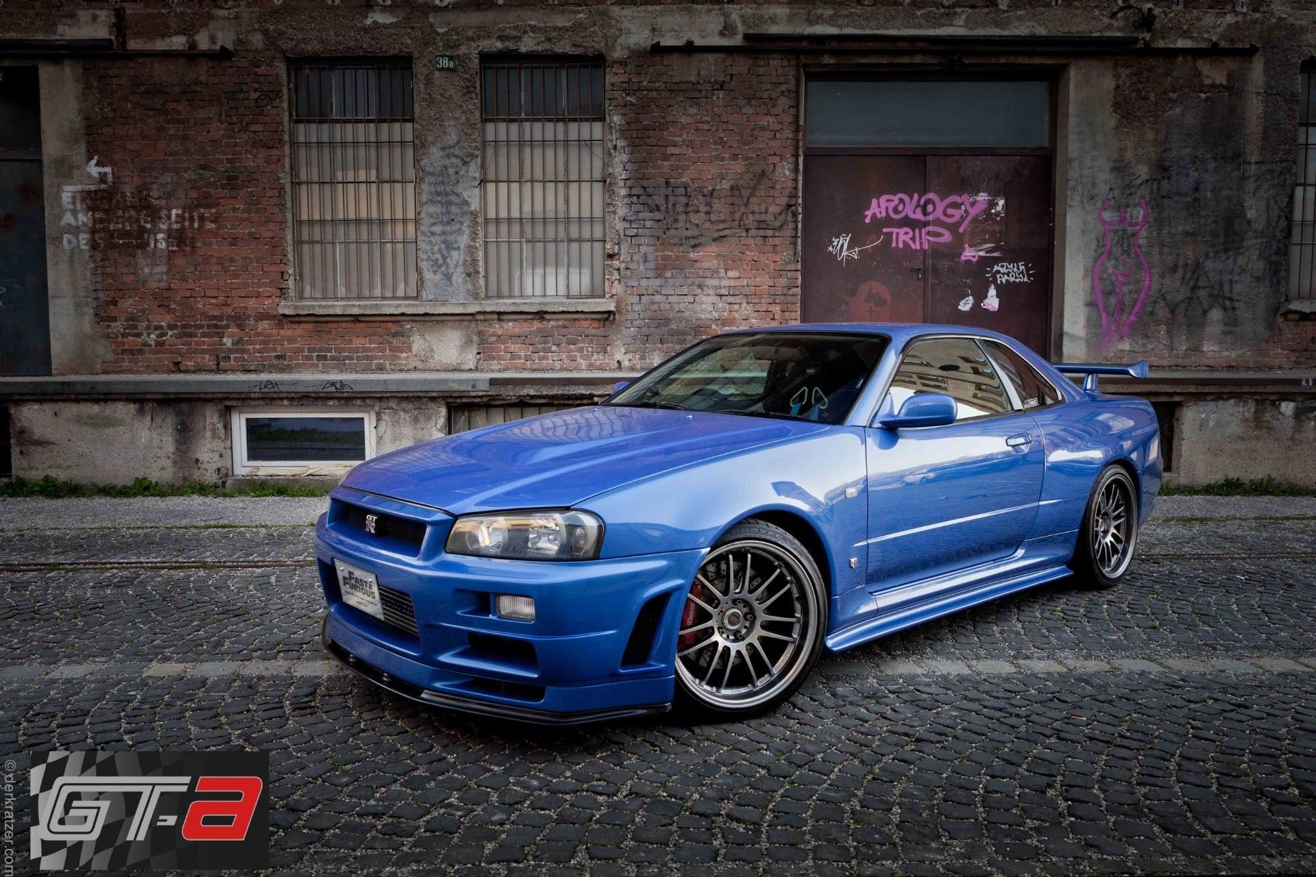 Paul Walkers Fast Furious 4 R34 Nissan Gt R For Sale Priced At How To Half Manual Power Window Zilvianet Forums 135 Million
