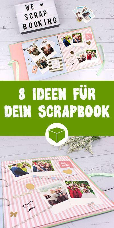 Scrapbook Ideen - Das kannst Du mit Deinem Scrapbook machen #scrapbook