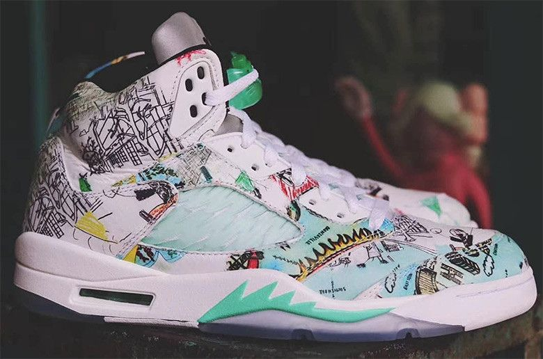 finest selection b1b1d 499a6 This Colorful Air Jordan 5 Is Inspired By The Jordan WINGS Program
