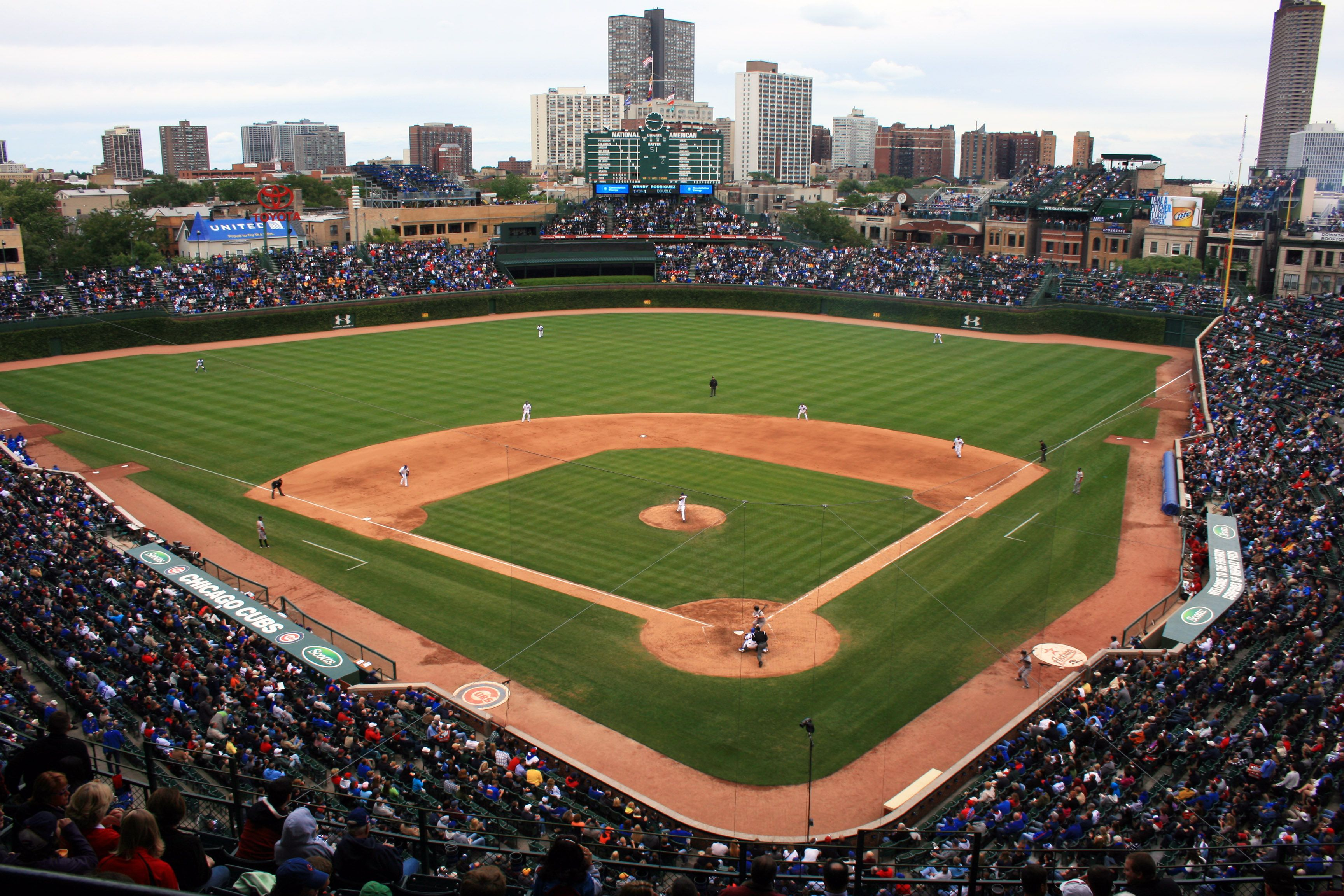 Wrigley Field Chicago Il Home Of The Chicago Cubs September 16 2011 Wrigleyfield