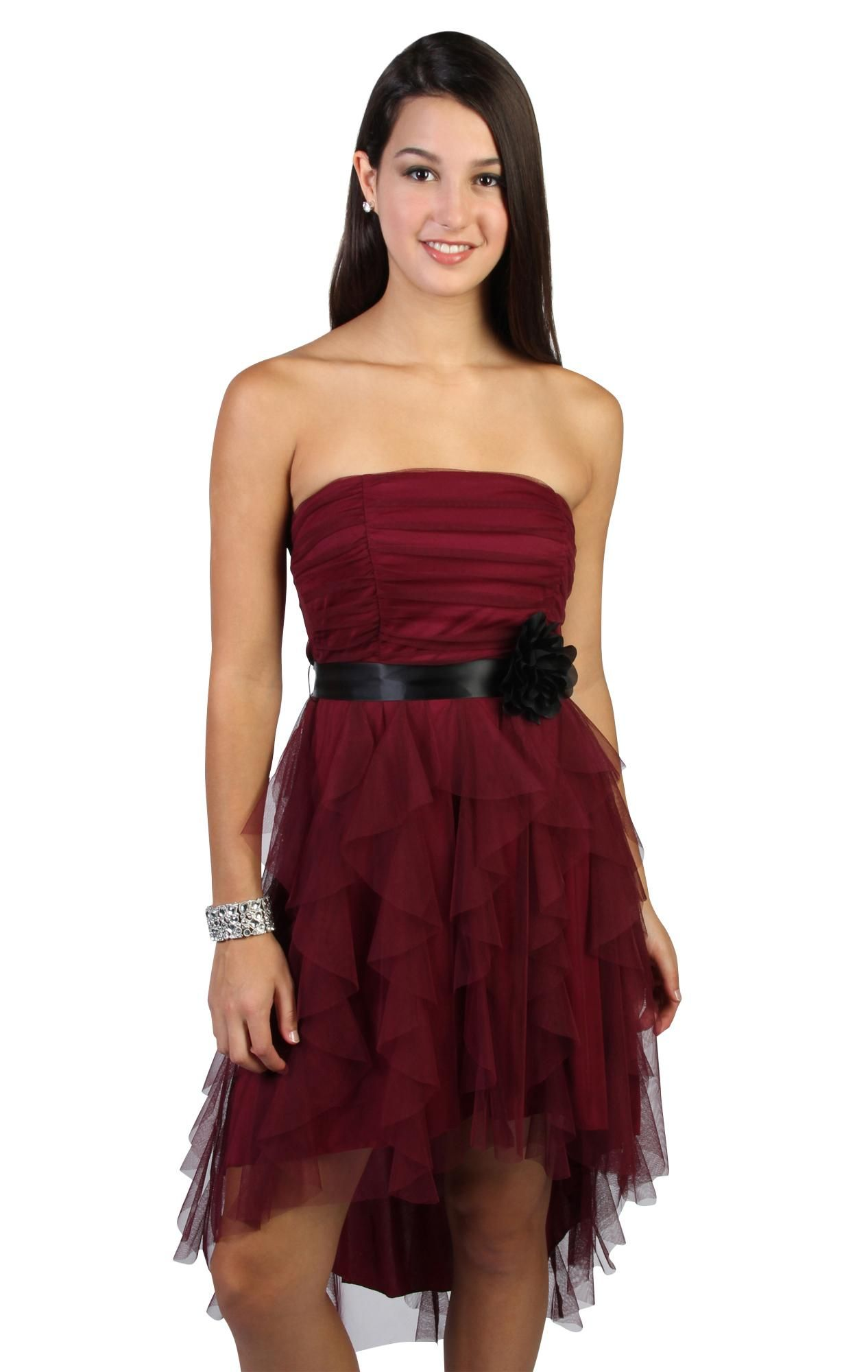 Pin by angie on dressup pinterest wine bridesmaid dresses high