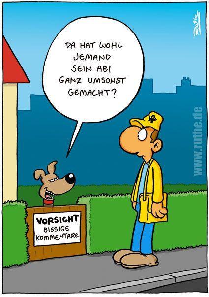 Pin von Karen Kruse auf Ruthe Cartoons | Lustige cartoons
