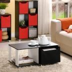 Basic Home Living Black and White Coffee Table