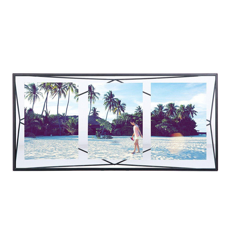 Amazon.com - Umbra Prisma Multi Picture Frame, Black -   Wall decor ...