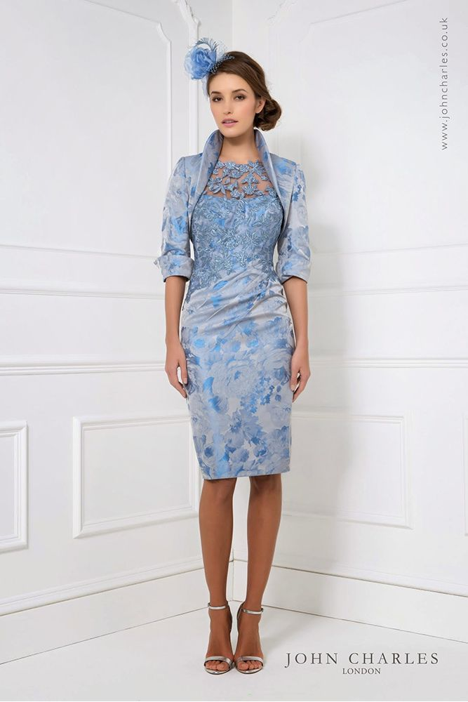 25826 John Charles Compton House Of Fashion Short Lace Dress Mother Of The Bride Outfit Bride Clothes