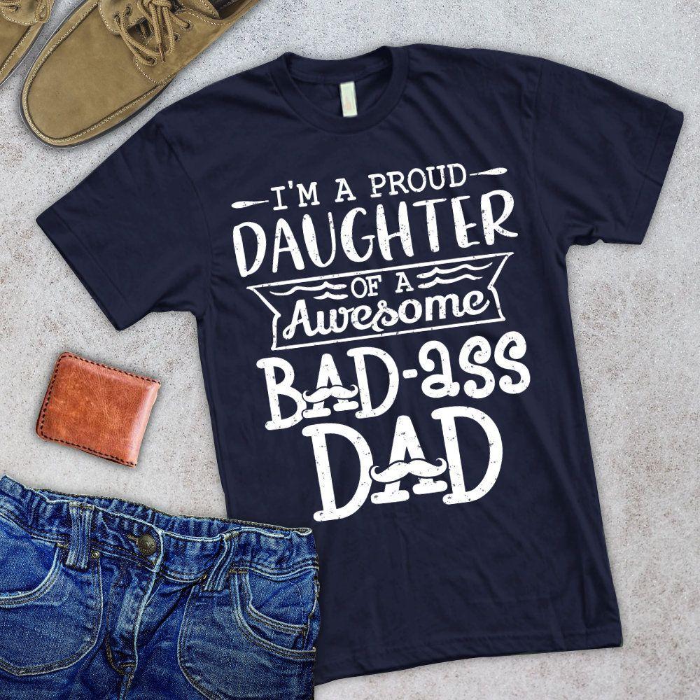 bad ass dad shirt