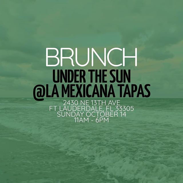 See You Sunday With @weareunderthesun For Some Incredible