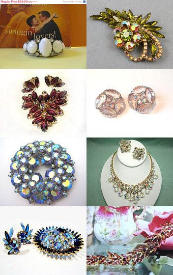 Juliana Shop of the Week VINTAGE VOGUE Team Treasury by Catherine Boudoir on Etsy--Pinned with TreasuryPin.com