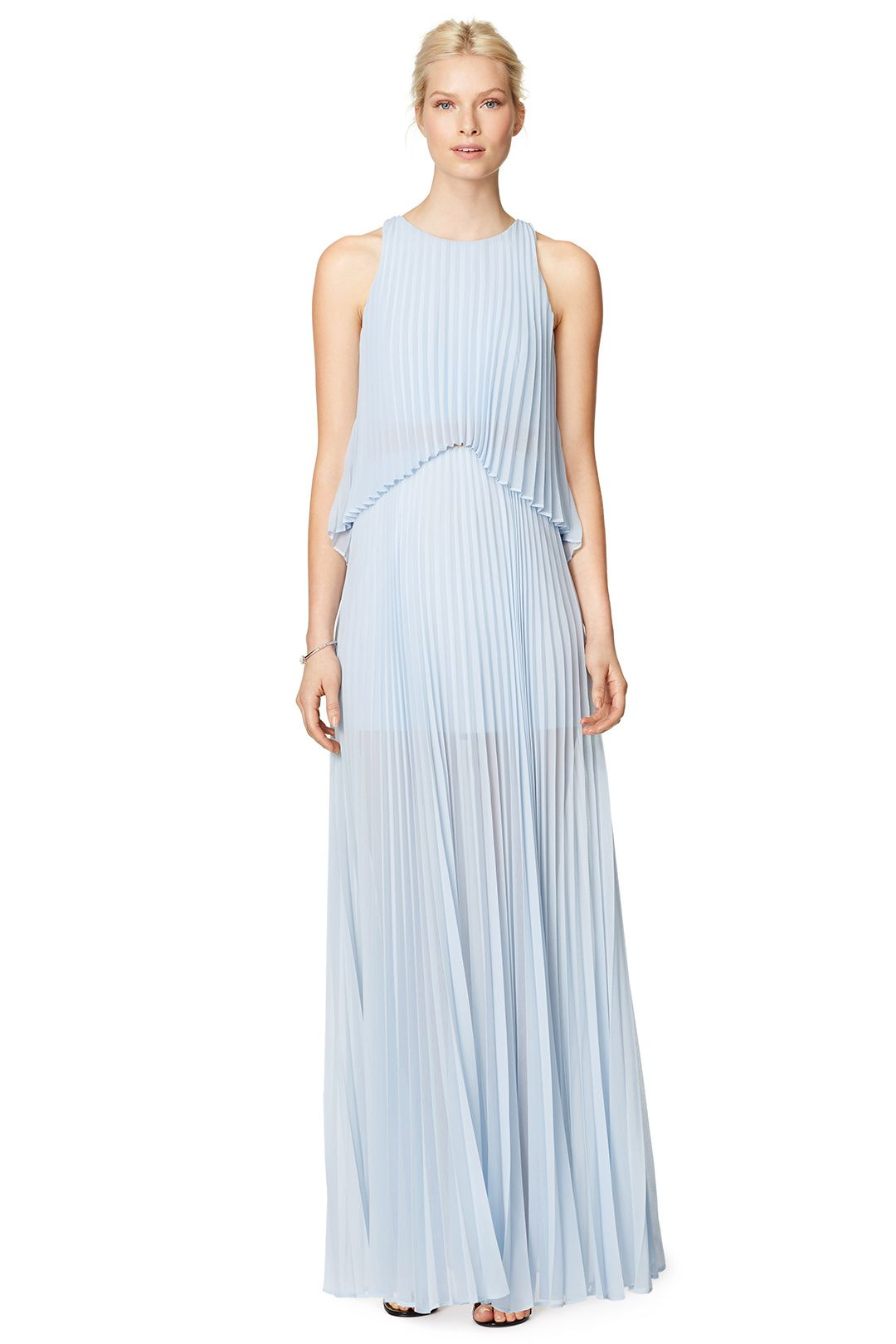 Guest of wedding dresses summer  Shaina Pleated Gown  Editorial Escapades  Pinterest  Gowns