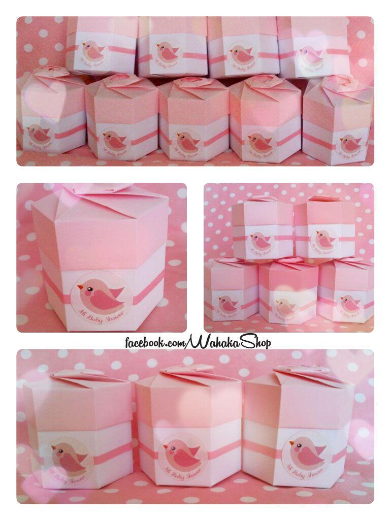 cajitas de origami para baby shower | souvenirs | Pinterest | Cajas ...