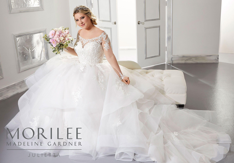 Alyssa Wedding Dress Morilee Plus Size Bridal Dresses Plus Size Wedding Gowns Wedding Dresses [ 1834 x 2630 Pixel ]