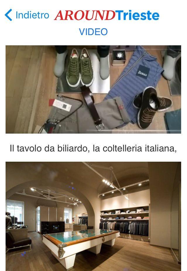"""#Trieste #Shopping  GRIFFE CONCEPTSTORE è molto di più...è un punto di riferimento per i clienti che desiderano sperimentare un'immersione in un'avventura di shopping carica di glamour...da GRIFFE  le più famose """"griffes"""" internazionali... esperienza emozionale di esplorazione e di scoperta unica al fine di valorizzare l'individualità dei clienti....Via San Nicolò 13 a...www.griffeconceptstore.com"""