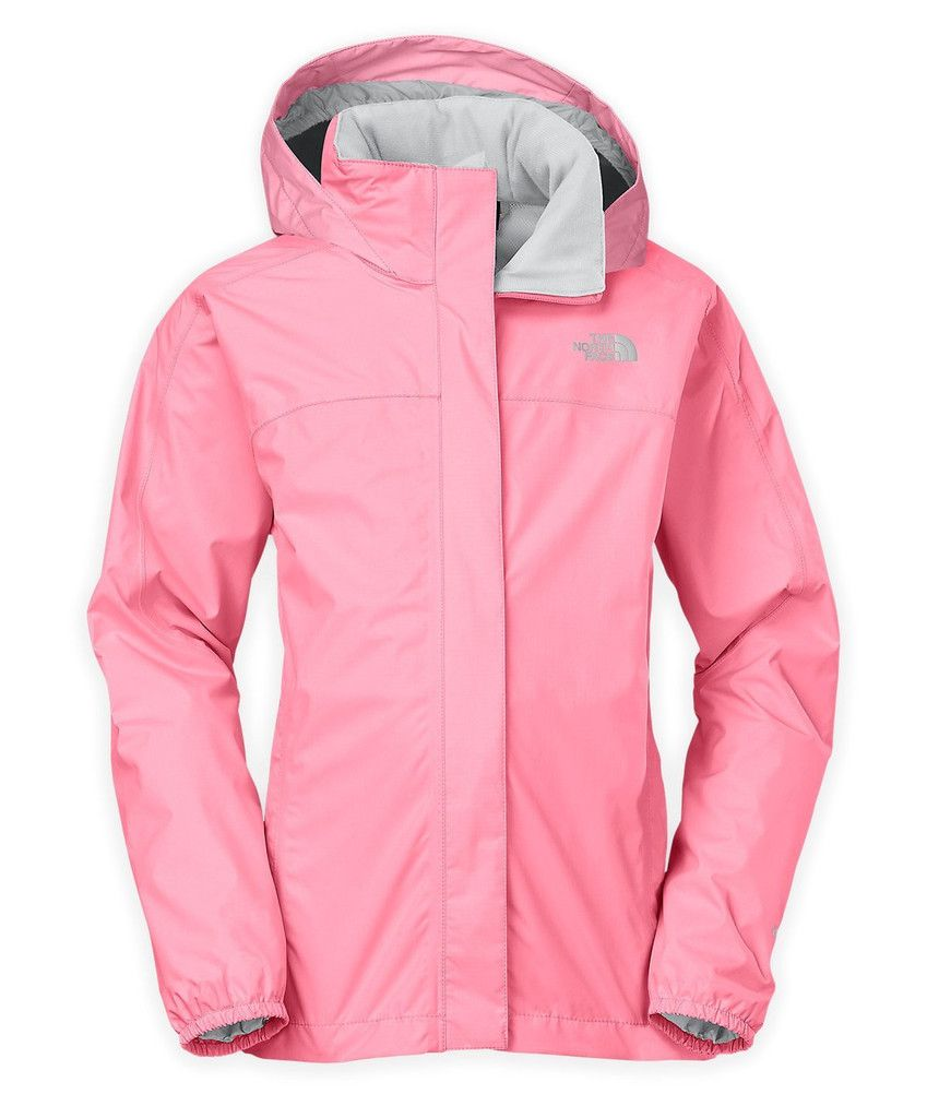 2822f88cc The North Face Resolve Reflective Jacket Girl's (Sugary Pink ...