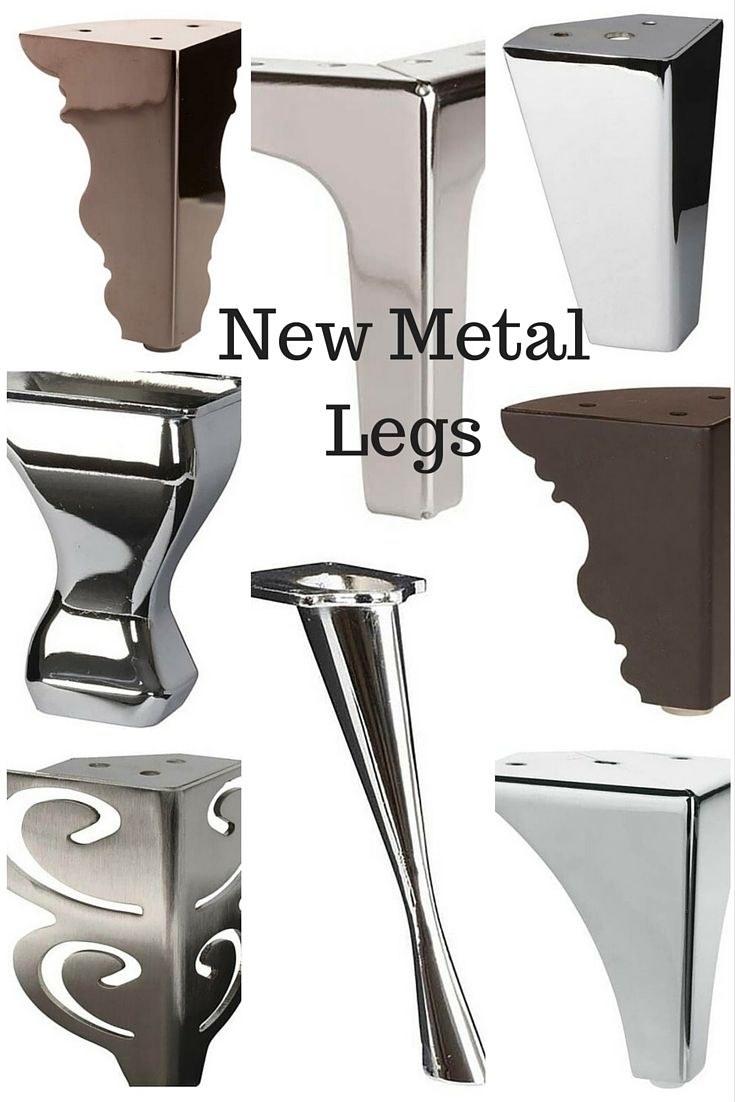 Metal Furniture Legs Offer A Stylish Alternative To Traditional