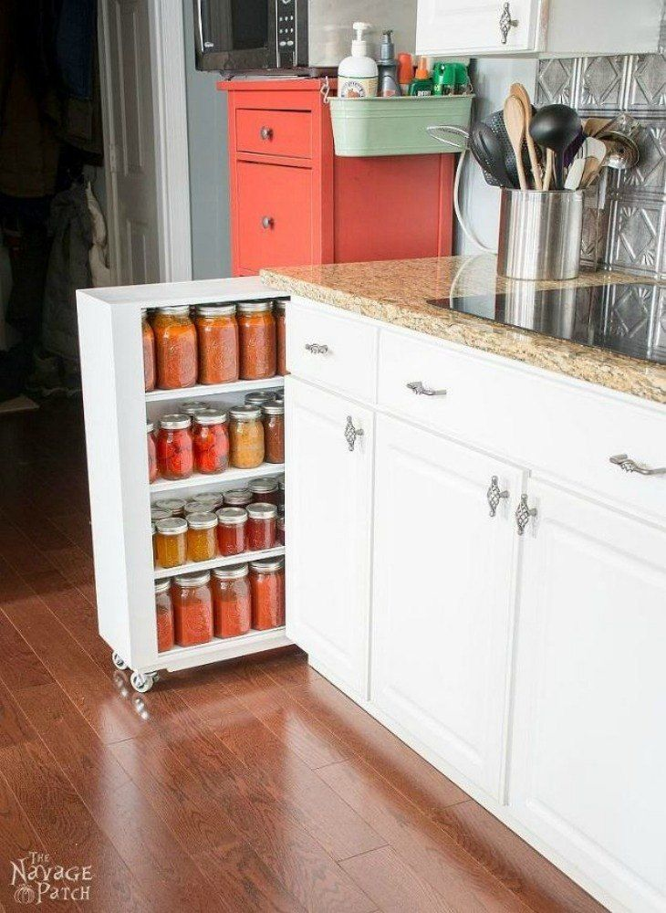 A Messy Pantry Drives Everyone Crazy But Wait Until You See What - How to add a pantry to your kitchen