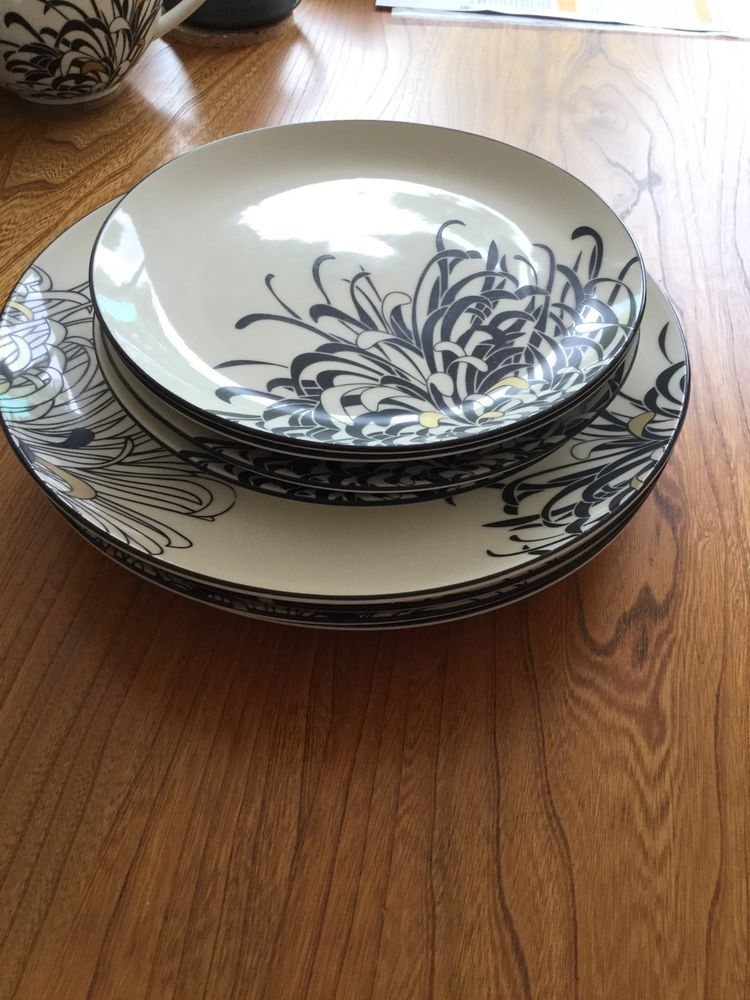Used denby monsoon chrysanthemum dinner plates and cream side plates.( I also have some & Used denby monsoon chrysanthemum dinner plates and cream side plates ...