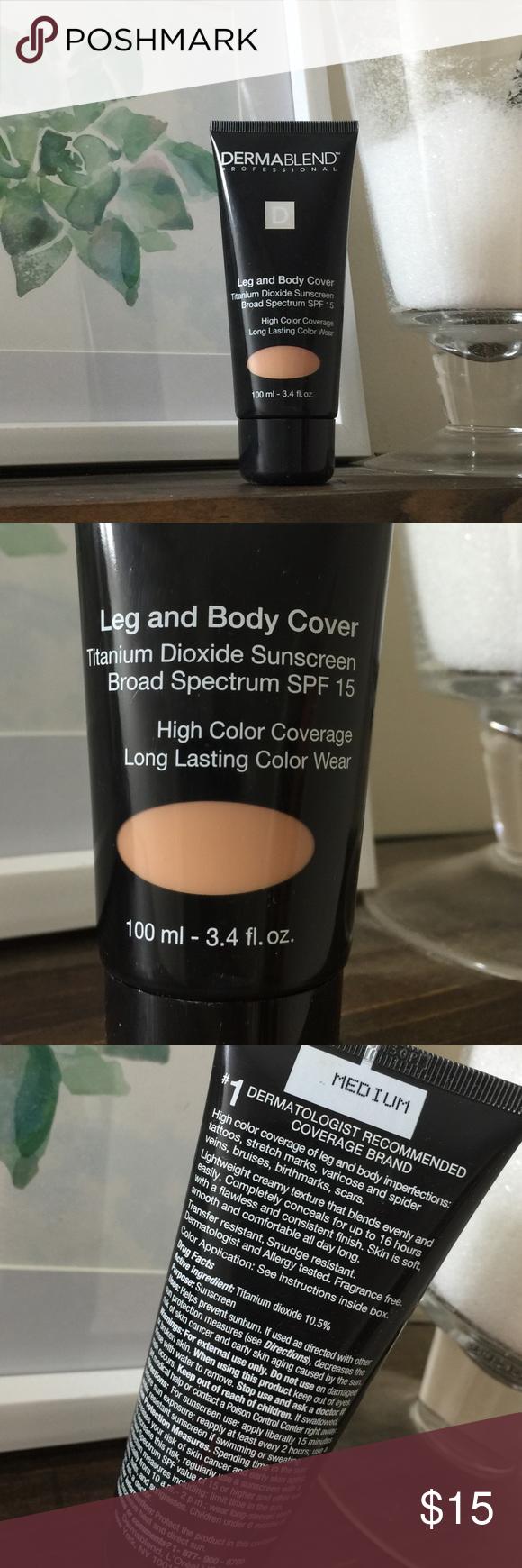Dermablend Makeup Leg & Body Cover Medium Dermablend