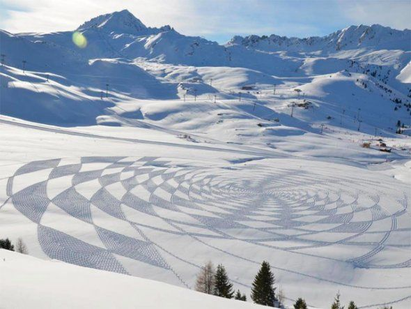Snow Art  #white #snow #art