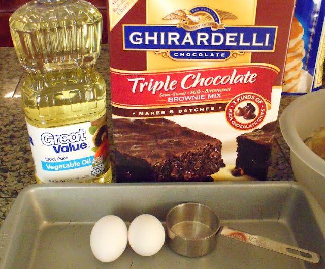 Ghirardelli Brownie Recipe Box Costco