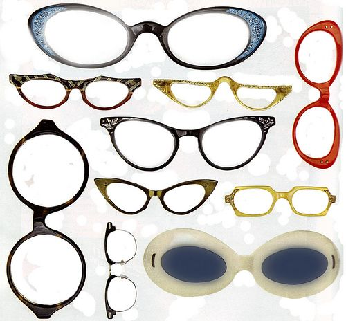 photoshopped vintage eyeglasses pinterest craft Italian Eyeglass Frames photoshopped vintage eyeglasses free to use in your art on flickr