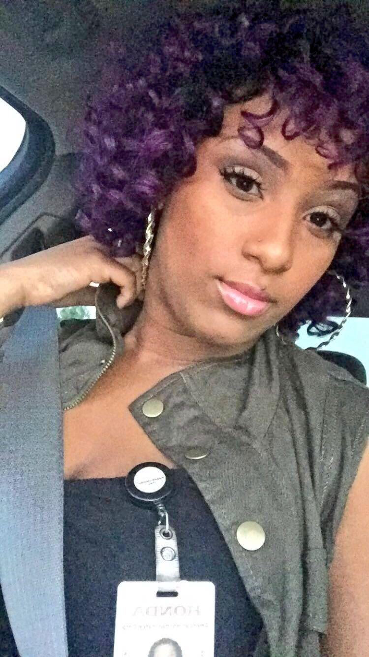 purple oprah curl x milky way | hair in 2019 | hair styles