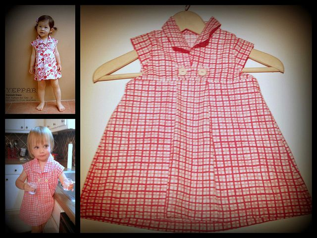 Sewing Project #2, via Flickr.  Pattern found on Etsy http://www.etsy.com/listing/73453300/pdf-pattern-hannah-dress-for-12m-5t-and