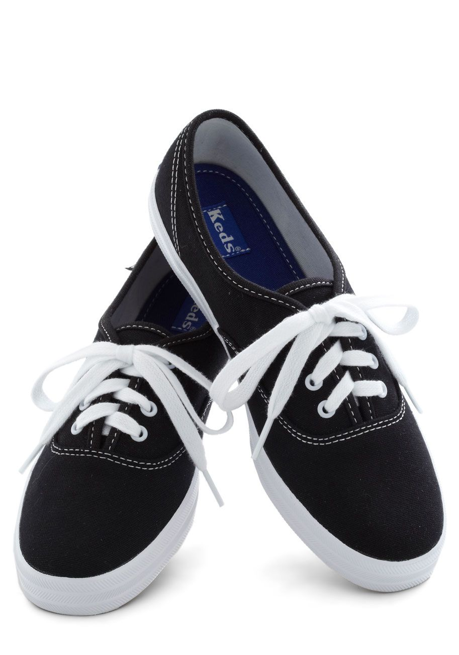 womens black keds sneakers