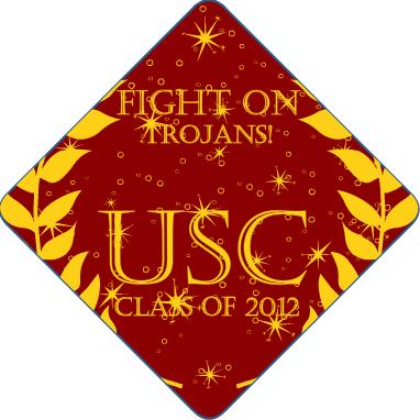 5397364d9b6 USC Trojans Tassel Topper  usc  college  graduation