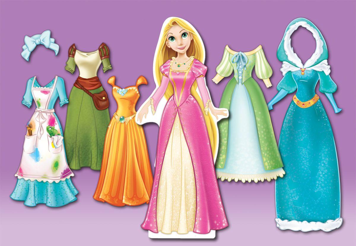 Rapunzel Paper Doll Rapunzel Doll Dresses By Rinrenee