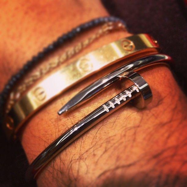 37727e89a331a Juste un clou :) #cartier #love #bracelet #courchevel #luxury ...