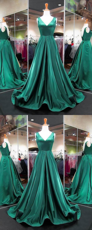 Outlet engrossing long prom dress evening dress green evening