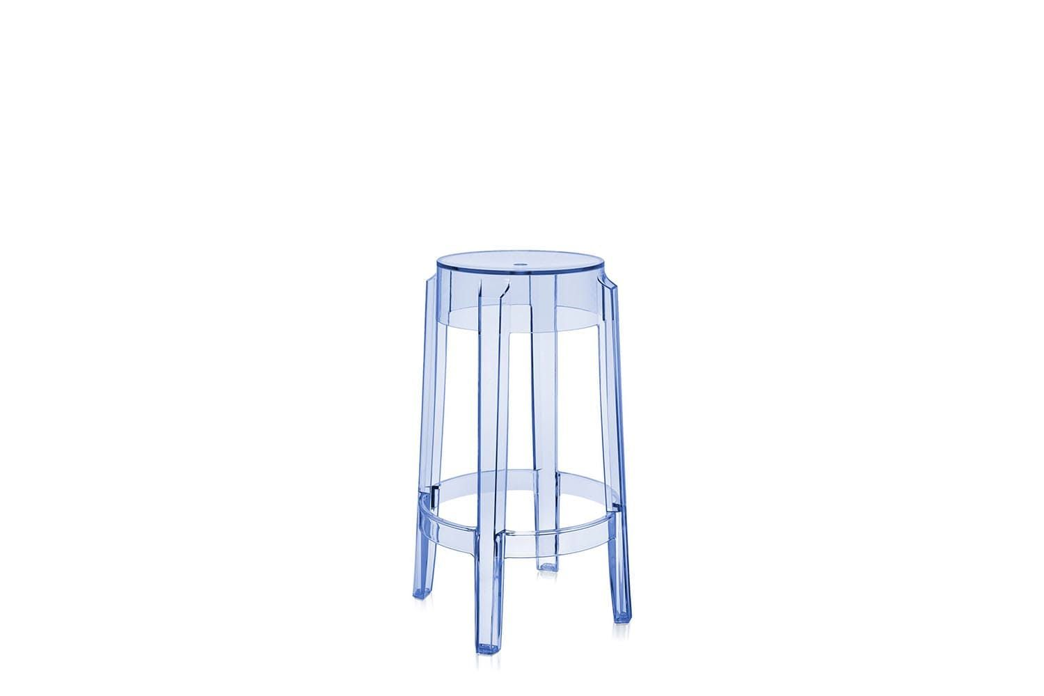 Charles ghost mid stool by philippe starck for kartell home
