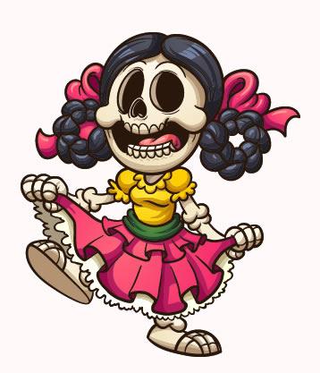 Dibujos Del Dia De Los Muertos Imagenes Para Colorear Dibujo Dia De Muertos Dibujos Dia De Muertos