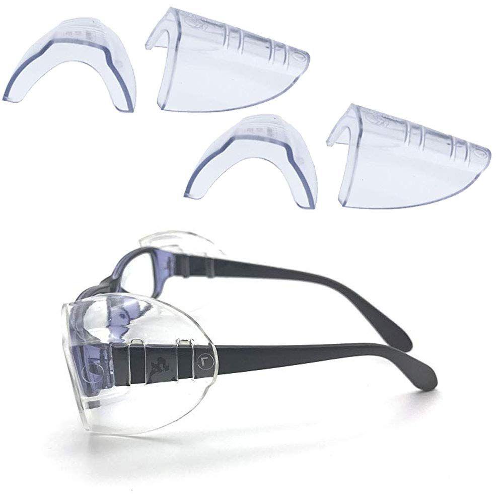 VintageBee 5 Pairs Safety Eye Glasses Side Shields Slip On