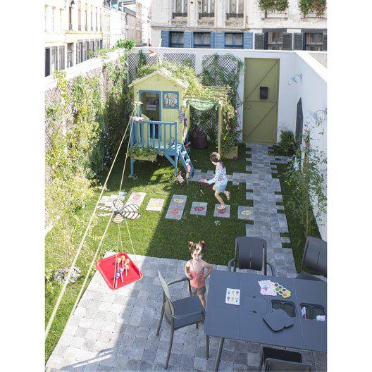 pav b ton samara gris noir nuanc cm x cm x mm jardin pinterest jardins. Black Bedroom Furniture Sets. Home Design Ideas