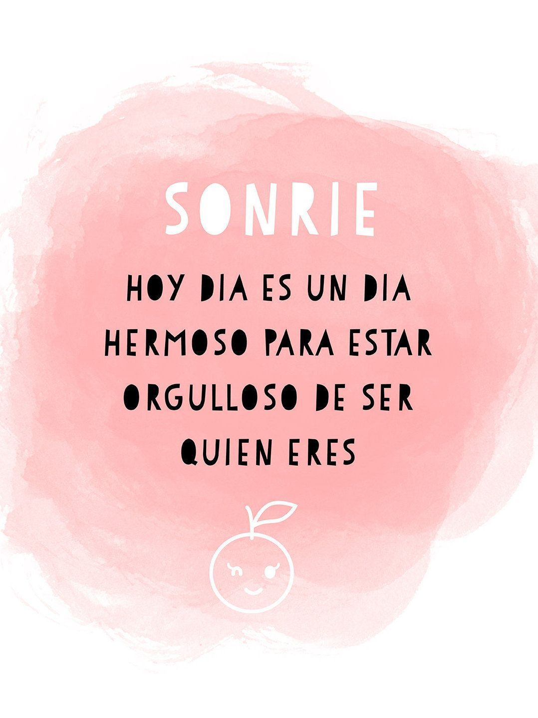 Sonrie quote in spanish for your classroom