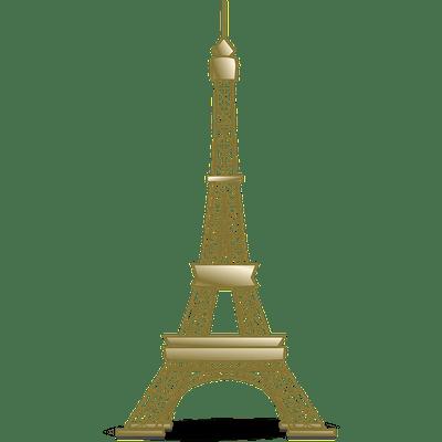 Golden Eiffel Tower Torre Eiffel Desenho Torre Eifel Torre