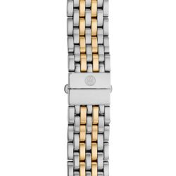 Women's Michele 'Serein 16' 16Mm Two-Tone Bracelet Watchband