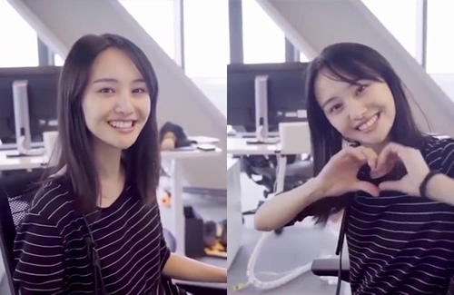 Zheng Shuang S Refreshing No Makeup Look Makeup Looks Hair Beauty Short Hair Styles