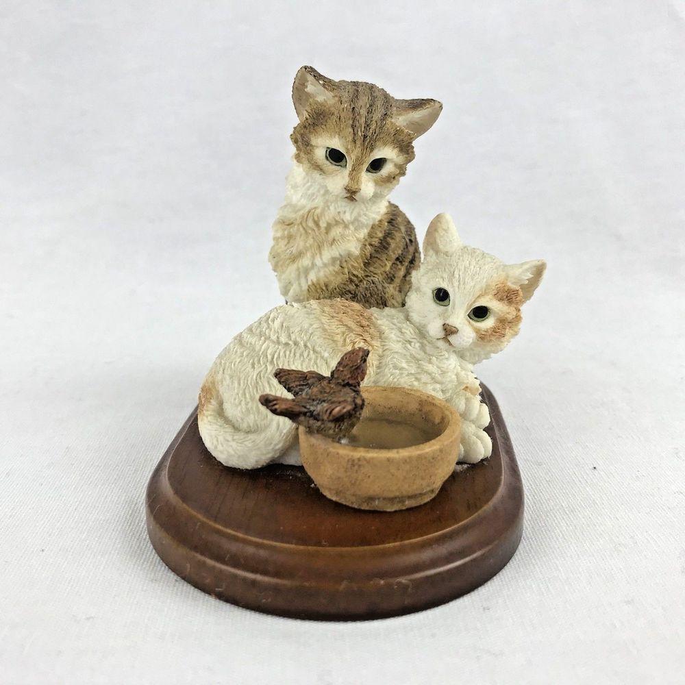 Stratford Collection Cats Bird Watching Figurine 00704